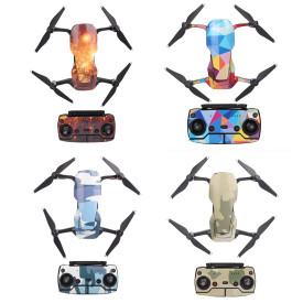Sunnylife Drone Body and RC Sticker Suit Waterproof PVC Sticker Decal Skin Cover for DJI Mavic Air