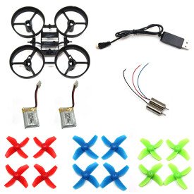 JJRC H36 RC Quadcopter Spare Parts Frame Blades Motor Battery propeller charing line charger for NIHUI E010/ NH010 Blade Inductrix Tiny Whoop