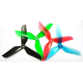 1 pair 6048 Balance CW CCW Tri-Blade Prop 3 Blades Propellers RK 5051 Series for QAV-X 5  250 ZMR 250 270 280  FPV Racing Quadcopter Racer