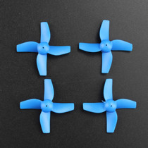 4Pcs Clockwise and Anti-clockwise Propellers Set for JJRC H36 RC Quadcopter - Blue
