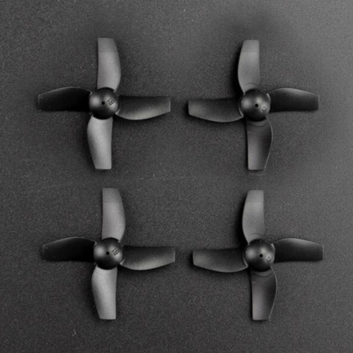 4Pcs Clockwise and Anti-clockwise Propellers Set for JJRC H36 RC Quadcopter - Black
