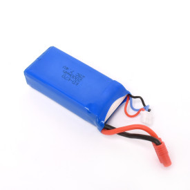 7.4V 2000mAh  Battery Spare Part for Medium-sized K70 Quadcopter Replacement - Blue