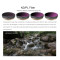 8Pcs Filters ND4 ND8 ND16 CPL ND4/PL ND8/PL ND16/PL ND32/PL Camera Lens for DJI OSMO Action