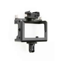Aluminium Alloy Rabbit Cage Sports Camera Protective Frame Housing Case Kit for DJI Osmo Action