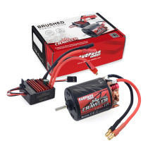 SURPASS 540 11T Brushed Motor with 60A ESC Combo Set for HSP HPI Tamiya FS Kyosho TRAXXAS Yokomo WLtoys 1/10 RC Car
