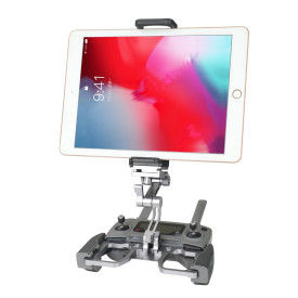Multi-function Remote Control Bracket Aluminium Alloy Tablets Phone Clip Holder for DJI Mavic 2/Mavic Pro/Mavic Air/Spark Drone - Dual-use Version