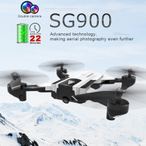 SG900 Foldable Quadcopter with Optical Flow Fixed-point Dual Camera Switching 720p Ultra-long Life Battery(3.7V2200mAh)