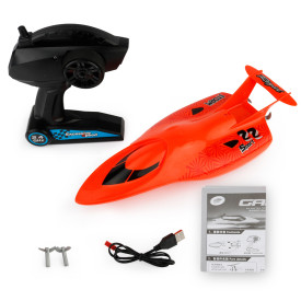 2.4G 4 Channels Speedboat RC Racing Boat Toys for Kids