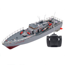 50cm 1:115 Remote Control Torpedo Boat Military Model Boat Toy