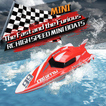 Mini Remote-controlled Speed Boat RC Aquatic Toys
