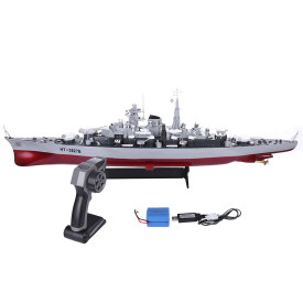 71cm 1:360 RC Military Battleship RC Cruiser Warship Toy