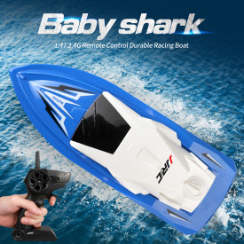 1:47 2.4G RC High Speed Racing Boat Speedboat Pools Lakes Water Toy