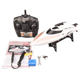 28KM/H 2.4G RC High Speed Racing Speed Boat RC Ship Model Decoration