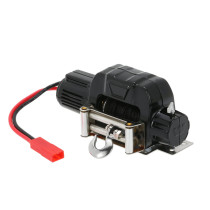Metal Electric Winch Car Parts for 1/10 Axial 4WD RC Crawler