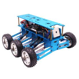 6WD Off-Road Robot Car with Camera for Arduino UNO DIY Kit Robot for Programming Intelligent Education and Learning