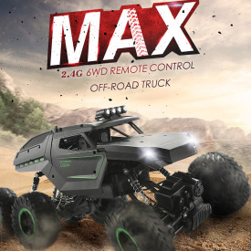 1:12 2.4G Remote Control Six-drive Six-wheel Climbing Off-road Vehicle High-speed Racing Model Q51C