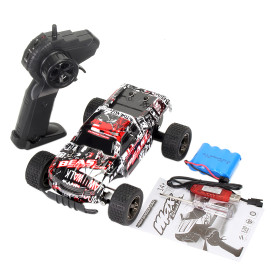 1:20 2.4G Off-road Vehicle RC Climbing Car Toy for Kids - Red
