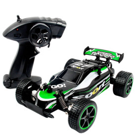 1:20 2.4G High Speed Off-road Drift Small Racing Car RC Car Toy for Children - Green