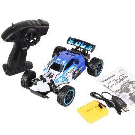 1:20 2.4G High Speed Off-road Vehicle RC Drift Racing Car Toy for Kids - Blue