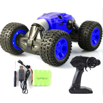 1:16 2.4G 4WD RC Cars Remote Control Off Road Car High Speed Climbing Racing Car One Key Deformation Car Somersault Vehicle Stunt Car - Blue