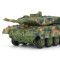 Creative Toy Magic Prestige 8020 RC Panzer Tank Remote Control Tank Car Military Model Toys for Kids - Green