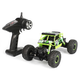 X Power s-001 Four-wheel Steering Drive RC Car Cross-country Climbing Car Toys for Children - Green 1:18