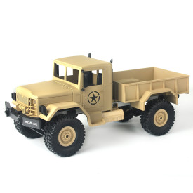 1:16 MNMODLl MN-35 2.4G Four-wheel Drive Climbing Truck RC Camion Toys for Children - Yellow