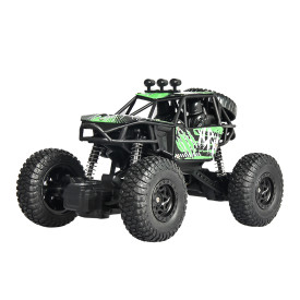 X Power S-003 1:20 Left Hand Throttle Four-wheeled Steering Driving Off-road Vehicle RC Climbing Car - Green