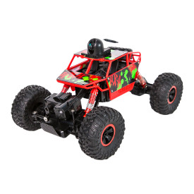 1:18 Electric Second Drive Four-wheeled Off-road Vehicle Climbing Car with WiFi720P VR First Perspective Operation - Red