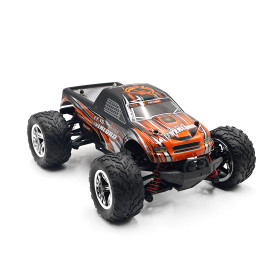 FY 15 1:20 2.4G 4WD High-speed Remote Control Off-road Vehicle RC Sports Car Toys for Kids - Black + Orange