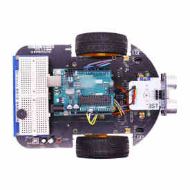 2-in-1 Project Super Starter Kit Smart Robot Car with Tutorial Programme Stem Toys for Arduino (Including UNO R3 Mainboard) - Standard Version