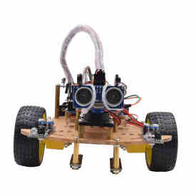 Mixly Wireless Remote Control Smart Car DIY Kit Infrared Control Robot Car DIY Kit for Arduino