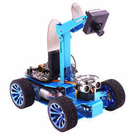 STM32 Visual Robot OV7670 Camera Tracking OLED Screen Independent Steering Robotics High-Power Motor
