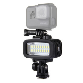 PULUZ Camera Underwater Diving Waterproof LED Photography Fill Light for DJI Osmo Action / Gopro