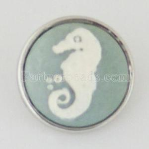 18MM natural stone snaps Artificial carving KB1028 snaps jewelry