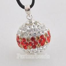 14*14mm preciosa ball pendant