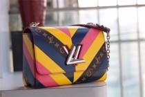 Fashion woman's bag large louis vuitton  handbag Denim M size adjustable chain size 23*18*8cm