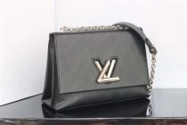 54617 Code LV0088 louis vuitton  handbag Denim s small M size 25*19*10cm
