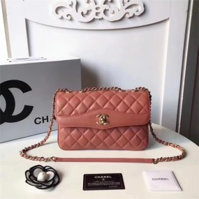 chanel bag high quality New shoulder bag arc-shaped ladies handbag
