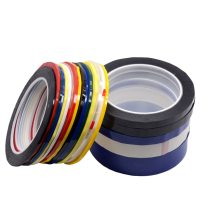 1pcs 2mm-100mm Length 66M 5S desktop positioning tape marking tape whiteboard color discrimination warning drawing grid line