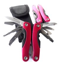 Outdoor Multitool Pliers Serrated Knife Jaw Hand Tools+Screwdriver+Pliers+Knife Multitool Knife Set Survival Gear