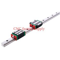 3D print parts CNC machine linear rail slide HGH25mm 25mm  1pcs 25mm L-400mm + 1 pcs HGH25HA carriage