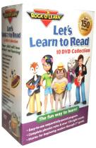 Let's Learn to Read Collection DVD Box Set 10 Disc