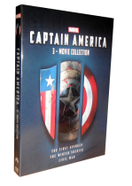 Marvel's Captain America 1-3 DVD 3 Movie Collection 3 Disc