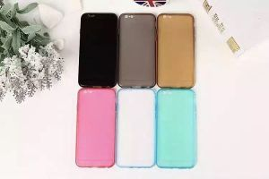Phone cases PC+TPU For iphone 100pcs Transparent Free shipping