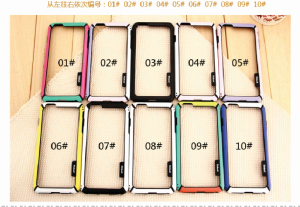 High quality Four color phone cases PC+TPU For iphone Samsung 100pcs Free shipping