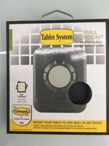 Agility Tablet Wall Mount For iPad 1/2/3/4 Air/Mini, 50pcs  Black Free shipping