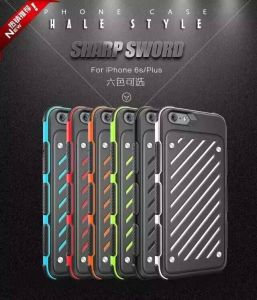 Phone HALE cases PC+TPU For iphone6/6S/6Plus,  100pcs Free shipping