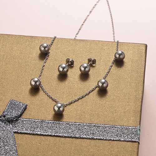 Stainless Steel Jewelry Sets -SSCSG126-20279Q