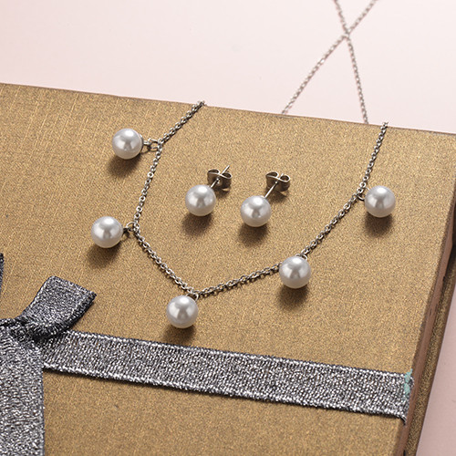 Stainless Steel Jewelry Sets -SSCSG126-20280Q